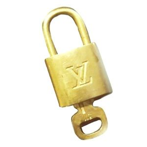 Louis Vuitton Authentic Padlock 1 Lock + 1 Key Set